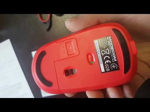 Мышь Modecom MC-WRM113 Wireless Black/Red (M-MC-WRM113-150)
