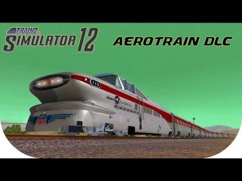 Trainz Simulator DLC: Aerotrain ( Trainz 12 ) HD