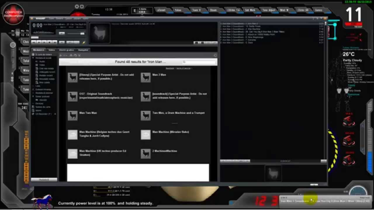 UPDATE Iron Man -- Jarvis, Desktop Animated, Live: Wallpaper,Theme; Personalize and Customize ...