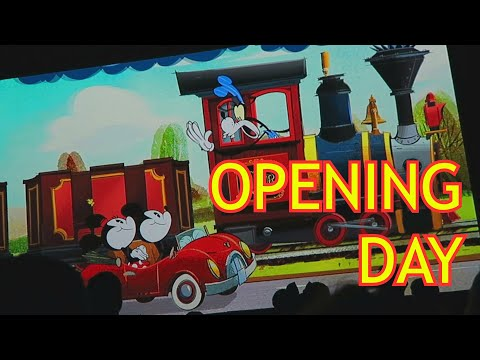 Mickey's Runaway Railway (Opening Day) At Disney's Hollywood Studios