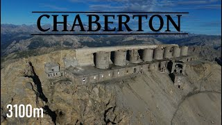 Fort du mont Chaberton I  Drone Hautes Alpes(3130m)
