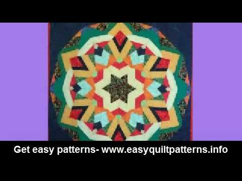 Kaleidoscope Quilting Pattern Free Quick And Easy Quilt Patterns For