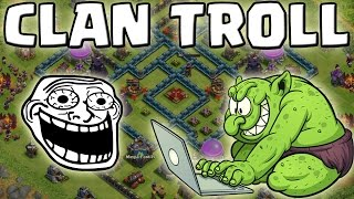 DER CLAN TROLL! || CLASH OF CLANS || Let's Play CoC [Deutsch/German Android iOS PC HD]