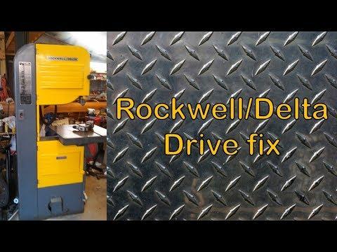 Rockwell/Delta Band saw quick fix DIY