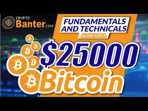 BITCOIN FUNDAMENTALS AND TECHNICALS ALIGN FOR $25000 THIS WEEKEND!!!