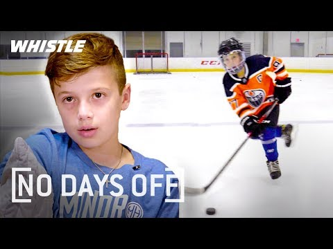 9-Year-Old UNREAL Hockey