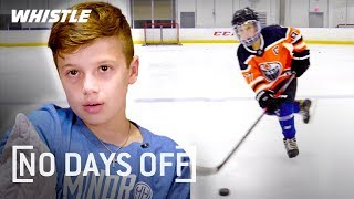 9-Year-Old UNREAL Hockey Skills | Next Sidney Crosby? Video