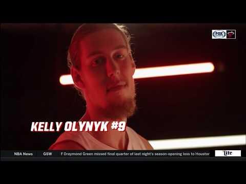 October 18, 2017 - FSS - Miami Heat Kelly Olynyk Pre Game Interview (@ Orlando Magic)