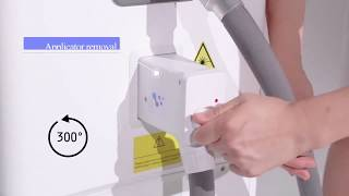 M LEPAGE - LASERMACH PRO 808nm/755nm/1064nm Intelligent Hair Removal System, Outstanding Comfort