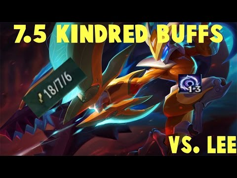 excellent start to a game   7.5 kindred jungle