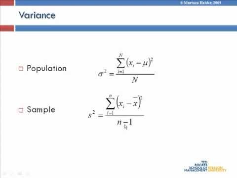 Lecture 6: Applied statistical analysis