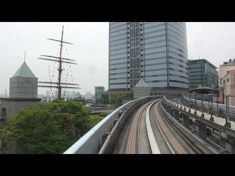 Tokyo monorail-like to Odaiba