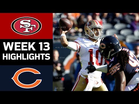 49ers vs. Bears | NFL Week 13 Game Highlights