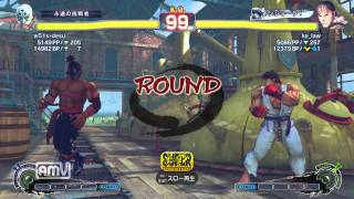 w51s-desu [El Fuerte] vs ke_law [Ryu] SSF4 AE ver.2012 Japanese Online Ranked Matches