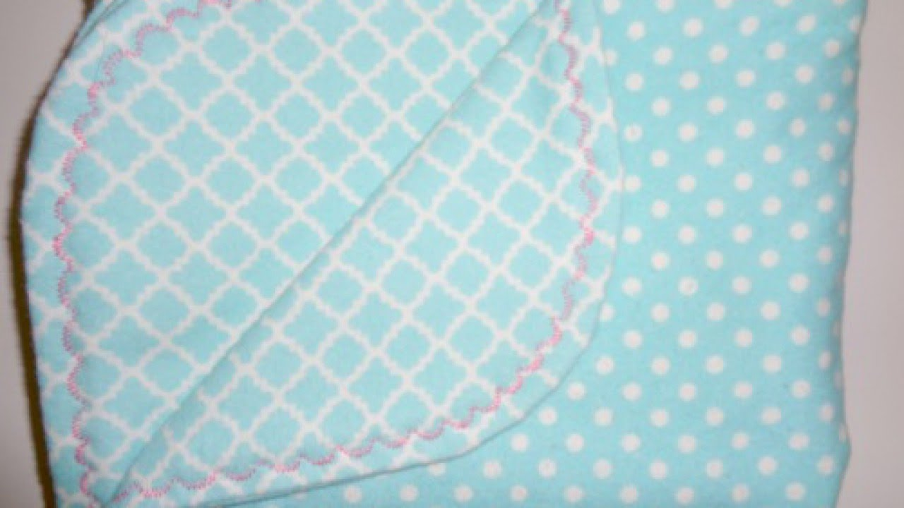 86fa00ed9f Make a Baby Blanket with Decorative Borders - DIY Crafts - Guidecentral