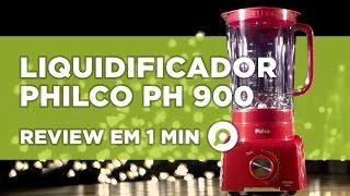 Liquidificador Philco PH 900 - ANÁLISE | REVIEW EM 1 MINUTO - ZOOM