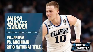 2018 March Madness NCAA title game: Villanova v. Michigan (FULL)