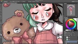 Drawing Crybaby [Photoshop CS6]