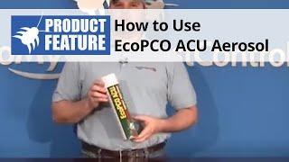 EcoPCO ACU Aerosol Overview
