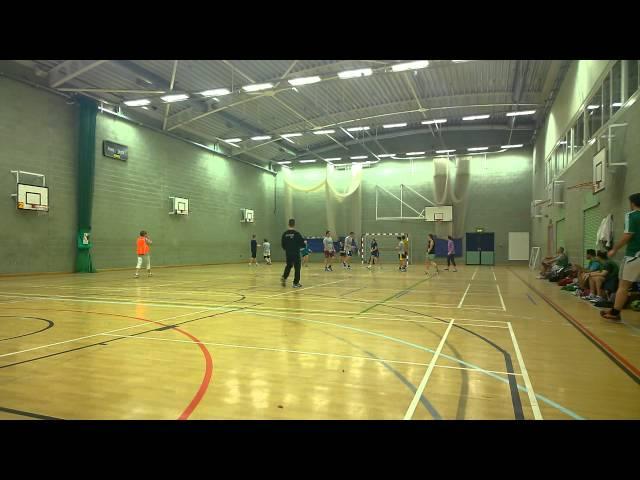 BHC TV - Handball Training at Deans Leisure Centre 13/14