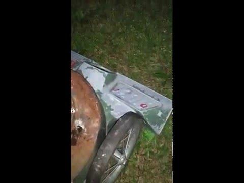 billy goat leaf vacuum sucking up acorns/pinecones
