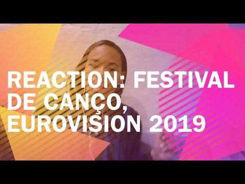 REACTION: Festival Da Canço 2019 [Alesia Michelle]