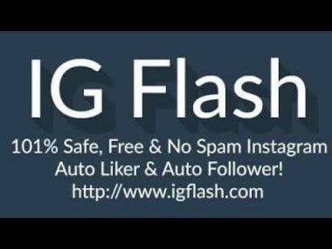 IG FLASH NOW ON APK, BOOM LIKES & AUTO FOLLOWERS REAL 101%!!!