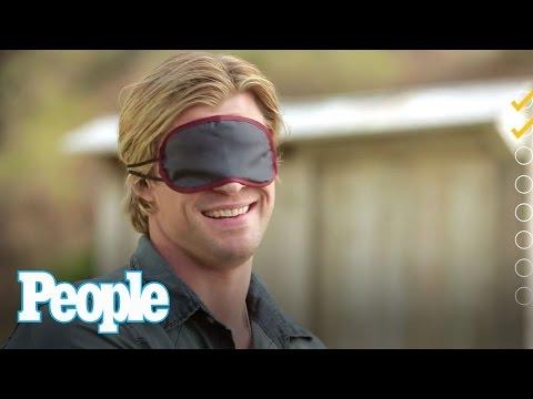 Chris Hemsworth Takes 'What's That Australian Stuff?' Challenge   People