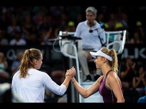 Elina Svitolina vs. Aliaksandra Sasnovich   2019 Brisbane International Second Round   WTA