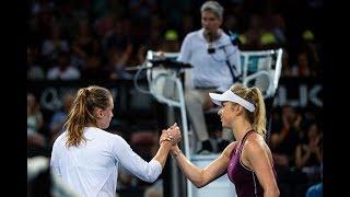 Elina Svitolina vs. Aliaksandra Sasnovich | 2019 Brisbane International Second Round | WTA