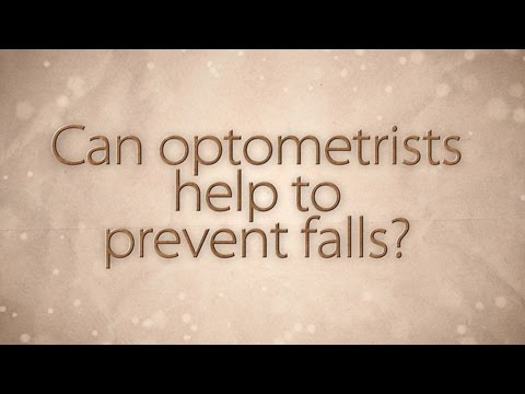Can optometrists help to prevent falls?