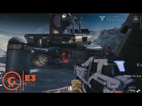 Destiny Stage Demo - E3 2014