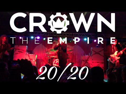 "Crown The Empire - ""20/20"" (New Song) Live! (4K)"