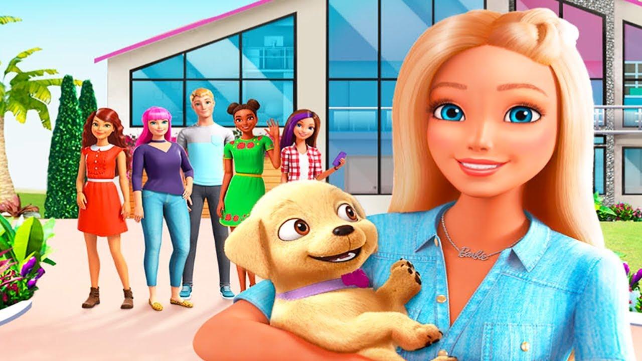 Barbie Dreamhouse Adventures Diy Design Cook Dance And Party