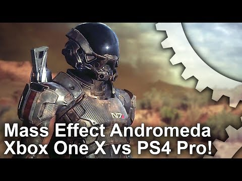 4K Mass Effect Andromeda: Xbox One X vs PS4 Pro  Performance Improved on X