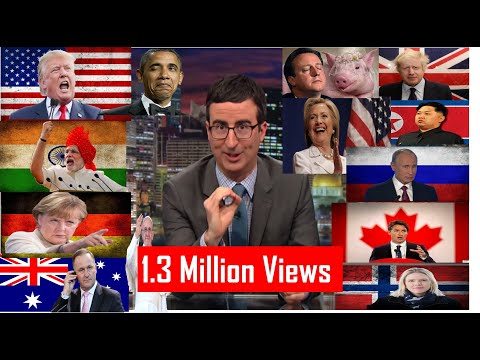 John Oliver takes on World Leaders - Hilarious Compliation