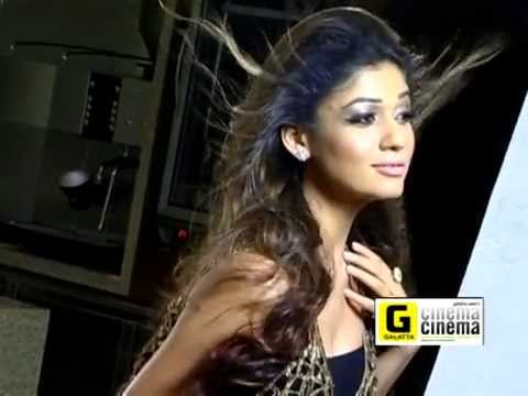 Making of Nayantara Photo Shoot for Galatta Cinema