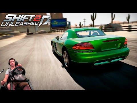 Чемпионат маслкаров на безбашенном Dodge Viper SRT10 Need For Speed Shift 2 Unleashed