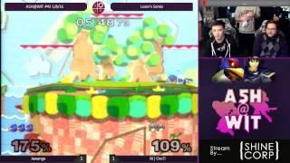 Jawanga (Falco) vs IX | Oro?! (Marth) - ASH@WIT #43 Melee Loser's Semis
