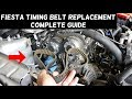 FORD FIESTA TIMING BELT REPLACEMENT MK7 ST