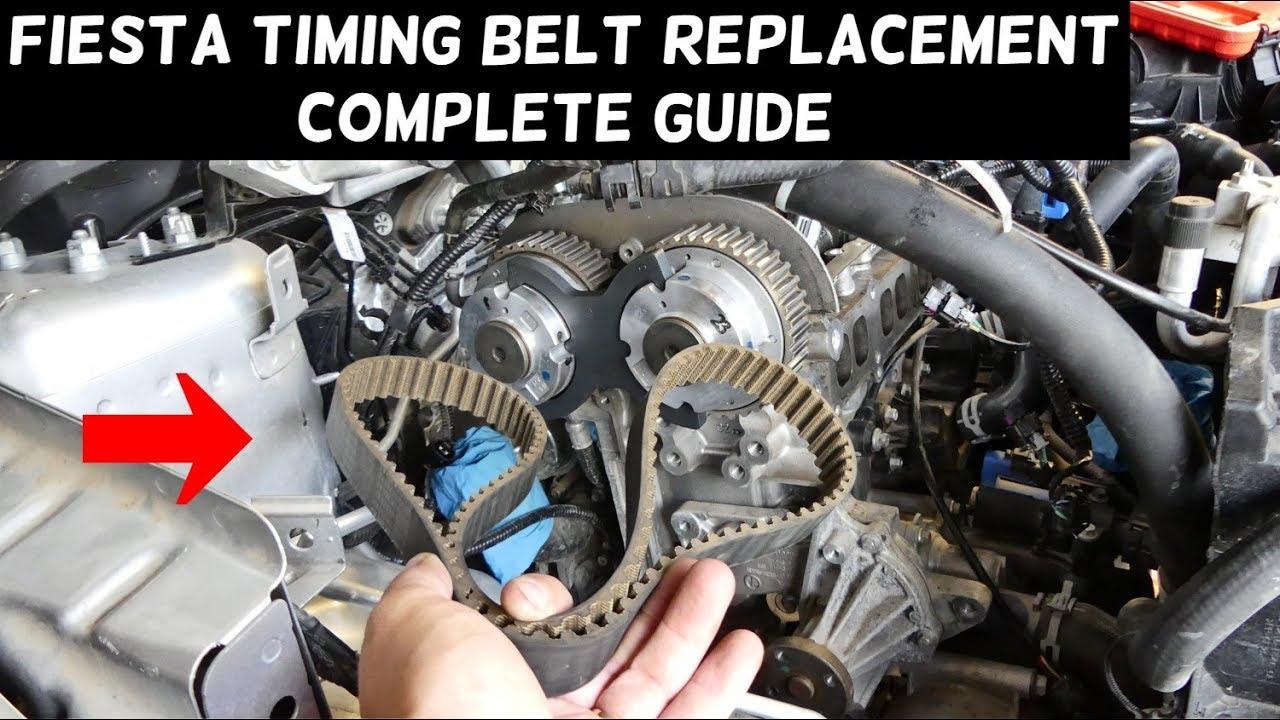 medium resolution of ford fiesta timing belt replacement mk7 st