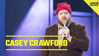 Comic Casey Crawford Shares Random Brand Of Humor