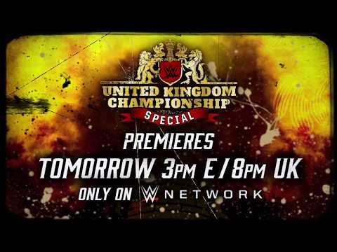 Tomorrow: Don't miss the WWE United Kingdom Championship Special on WWE Network
