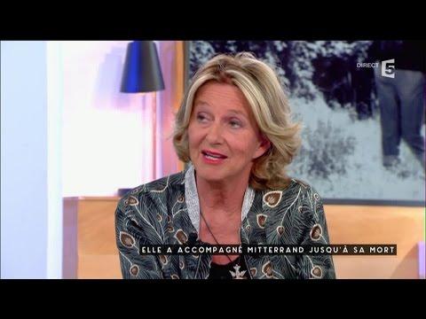 Elle a accompagé la fin de Mitterrand - C à vous - 18/10/2016