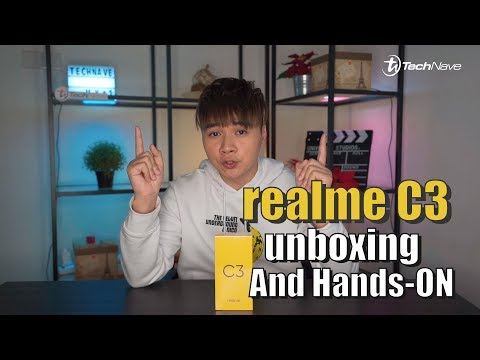 Realme C3 first impression and Unboxing!