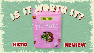 IS IT WORTH IT?  - Pili Nuts by Raw & Wild || Keto Review