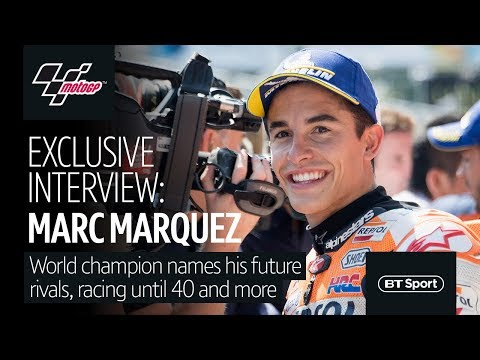 Fascinating Marc Márquez interview | Future rivals, racing until 40, staying at Honda