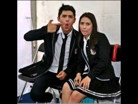 Foto aliando and prilly  (lagu hujan)