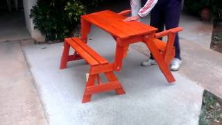 Folding Bench - Picnic Table