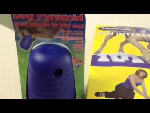 Nina Ottosson Dog Finder and Dog Pyramid Product Review, video 1